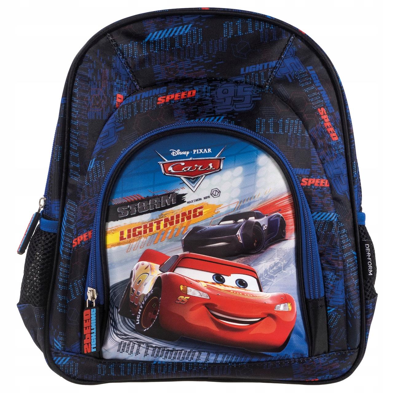 Plecak wycieczkowy dziecięcy dla chłopca Cars Auta
