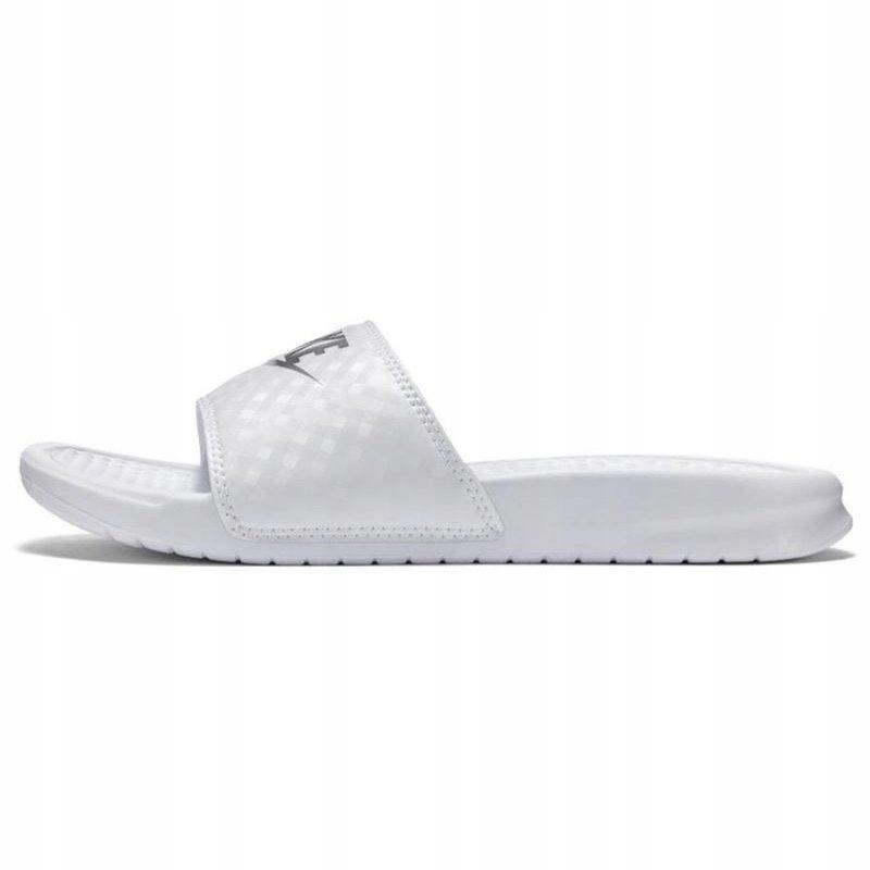 Białe Buty Damskie Klapki Sportowe Nike r.35,5