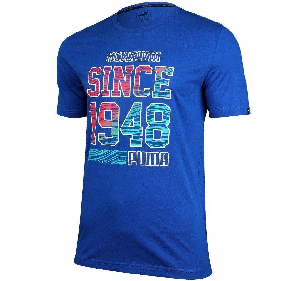 Koszulka Puma Fun Summer Logo Tee Surf 836592 16 M