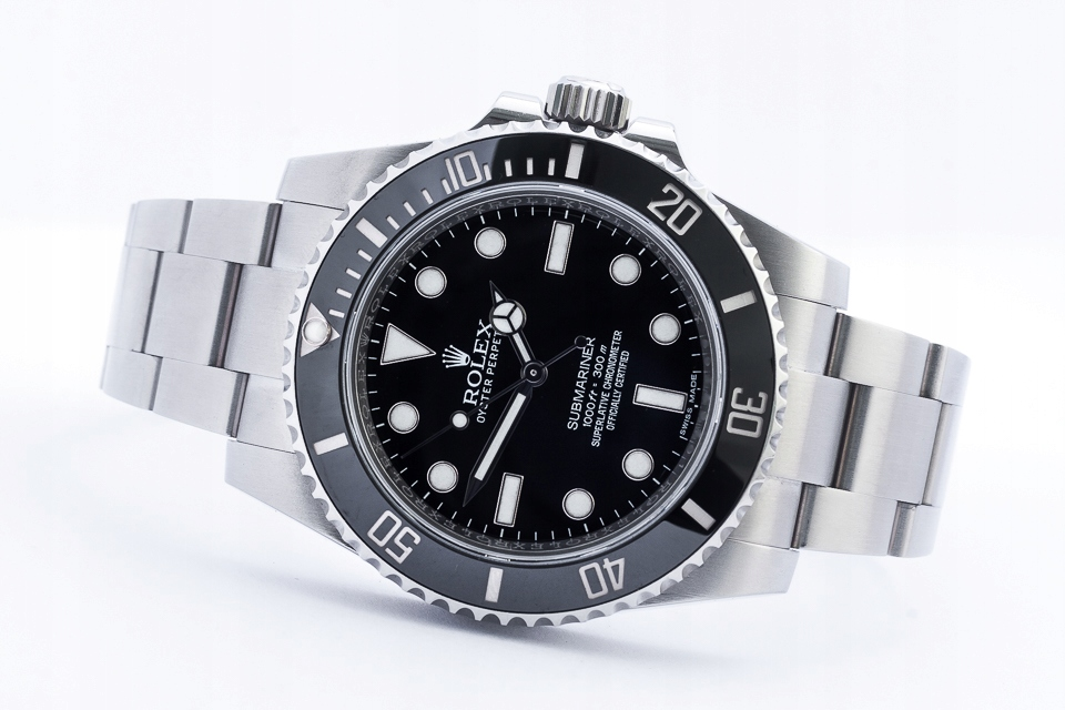 ROLEX OYSTER PERPETUAL SUBMARINER COSC 40MM /KPL.