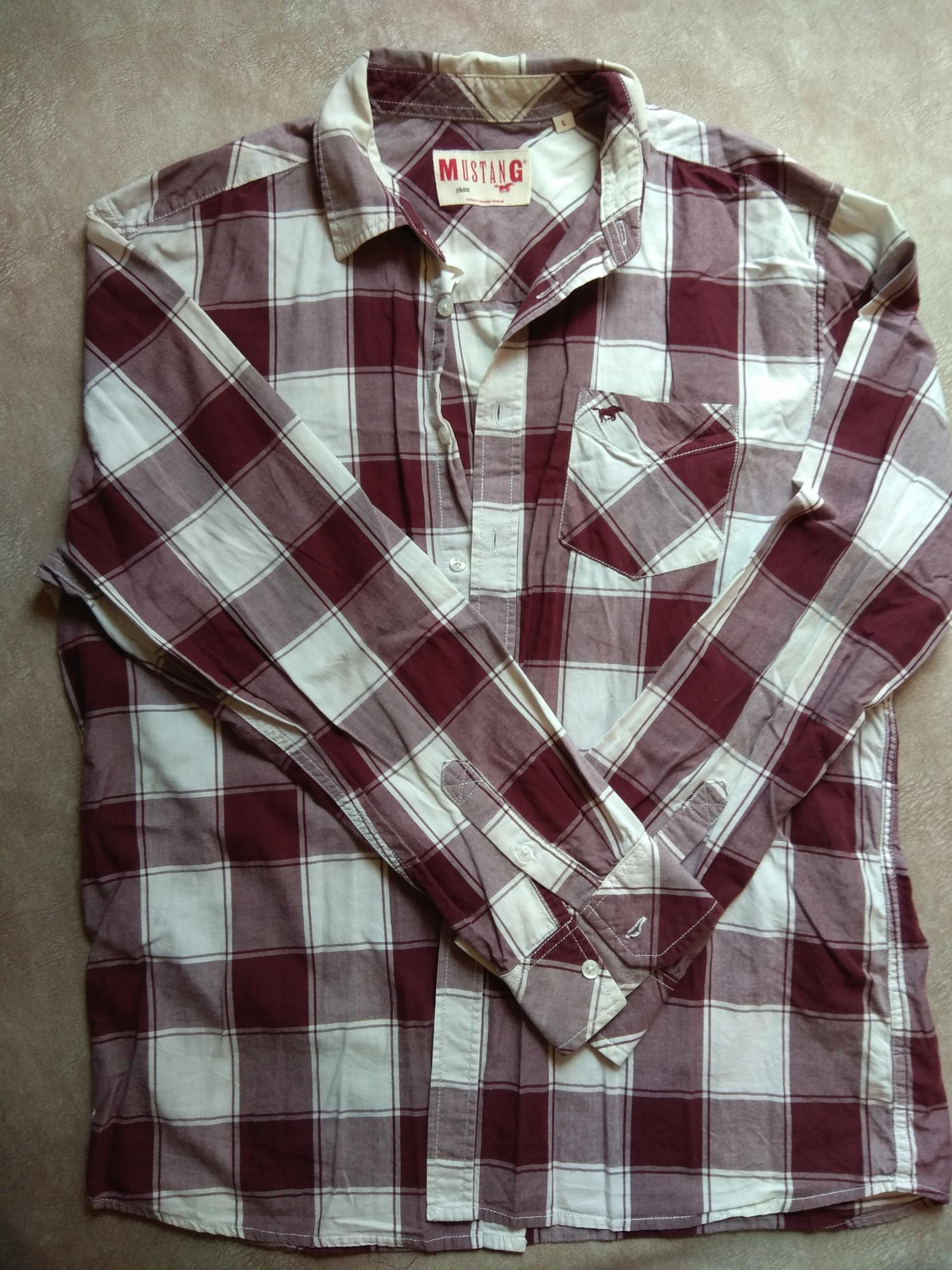 Komplet koszul męskich w rozmiarze L