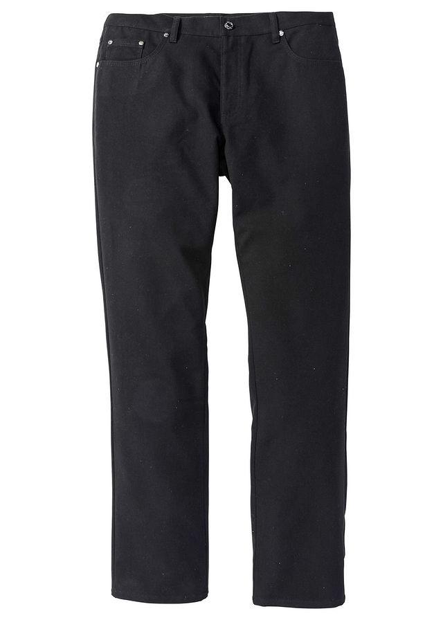 F389 BPC Spodnie o wyglądzie flaneli 54pas:100-106