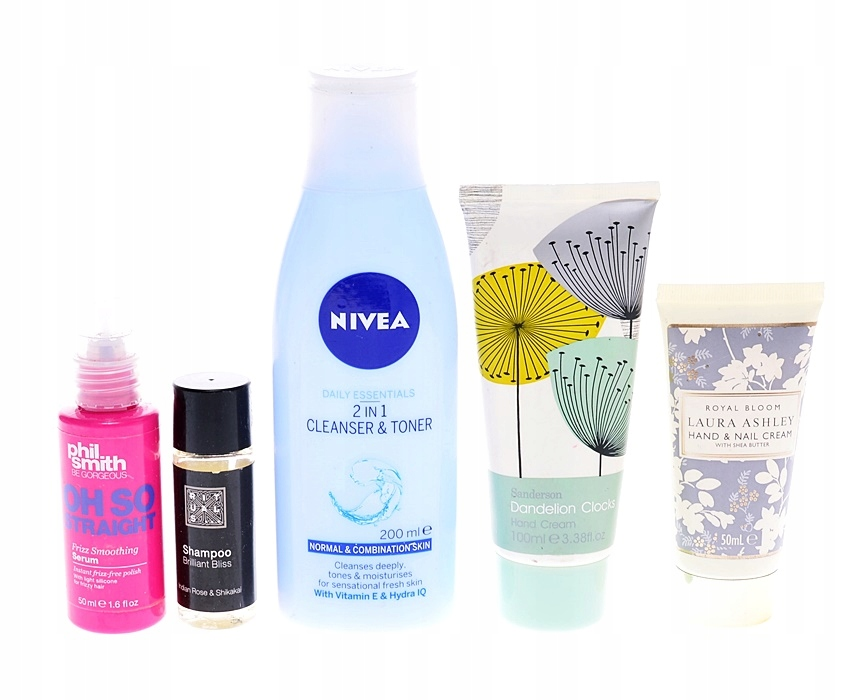 9038-28 NIVEA ROYAL BLOOM... SERUM CLEANER ZESTAW