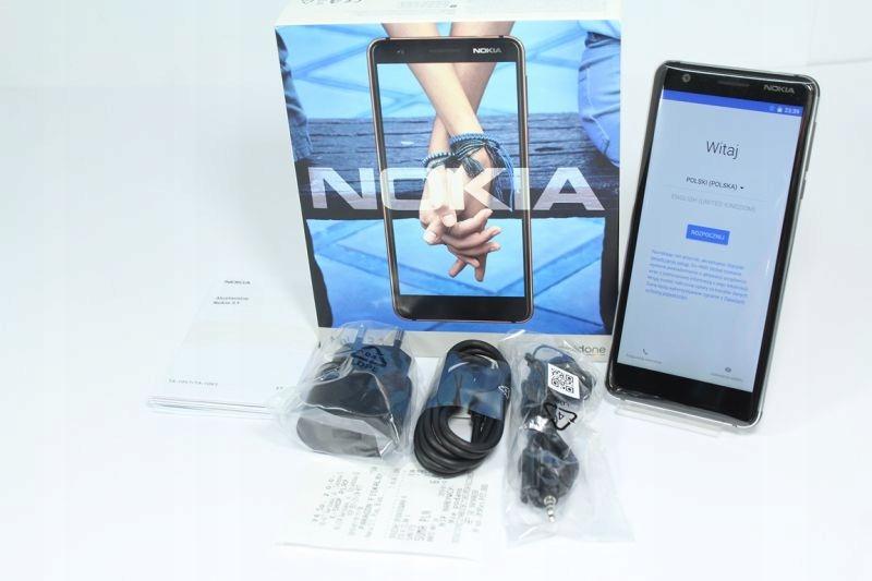 NOKIA 3.1 / JAK NOWA / GWAR.