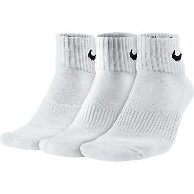 Skarpety Nike Performance BAWEŁNA białe r. 34-38