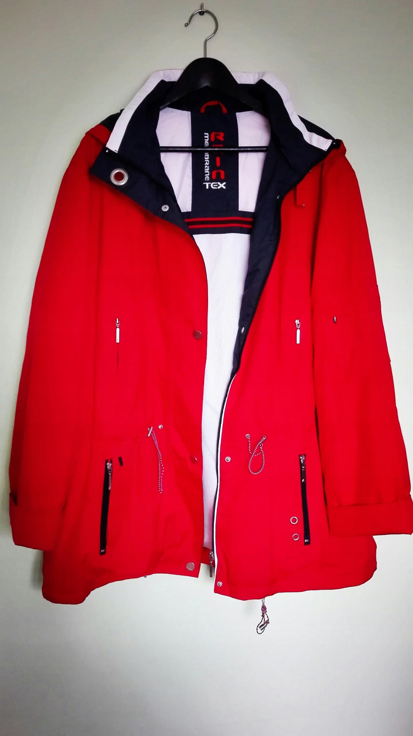 Przeciwdeszczowa kurtka marki C&A rozmiar 52