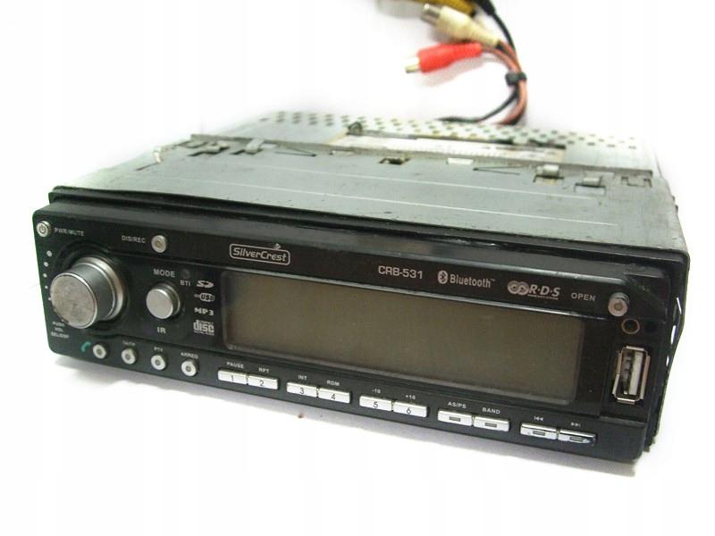 RADIO SAMOCHODOWE SILVERCREST CRB-531