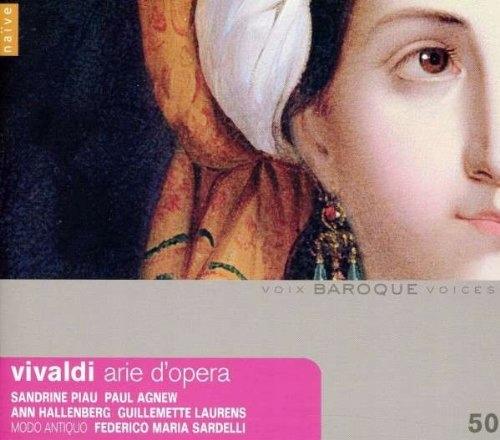 CD Vivaldi, A. - Arie D`opera Sandrine Piau