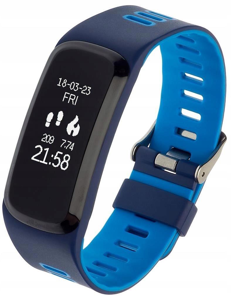 Smartband, Opaska Sportowa Garett Fit 15 Niebieski
