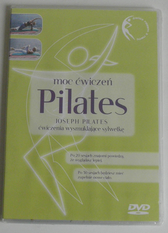 DVD PILATES MOC ĆWICZEŃ NOWA FOLIA LEKTOR PL