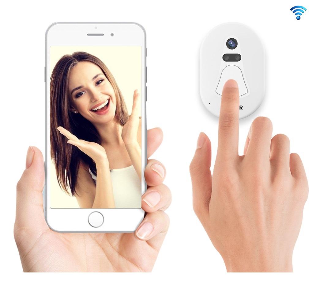 Inteligenty Bezprzewodowy Dzwonek Drzwi WiFi Kamer