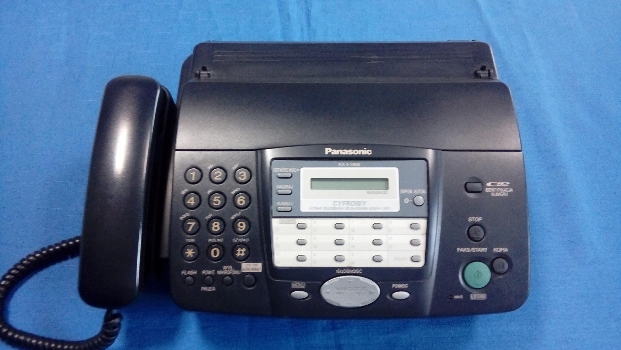 Telefaks termiczny Panasonic KX-FT906