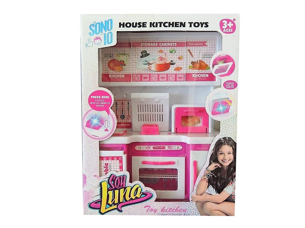 Kuchnia Mebelki Dla Lalek Barbie Swiatlo Dzwiek 7285727672