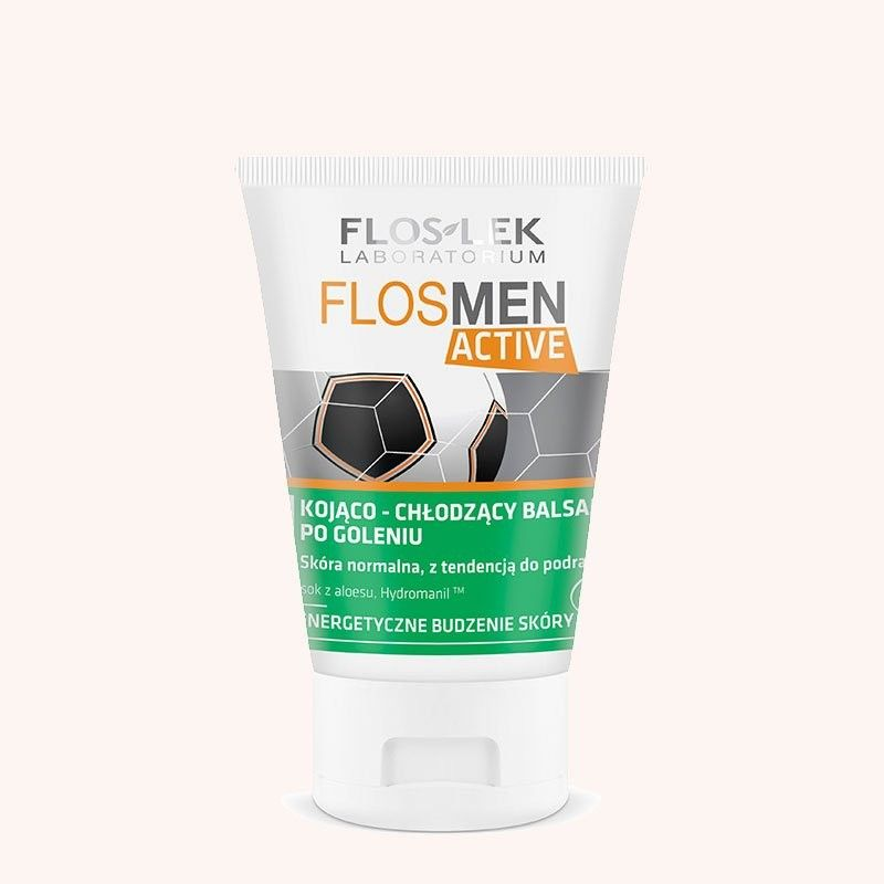 Floslek Men Balsam po goleniu kojąco-chłodzący