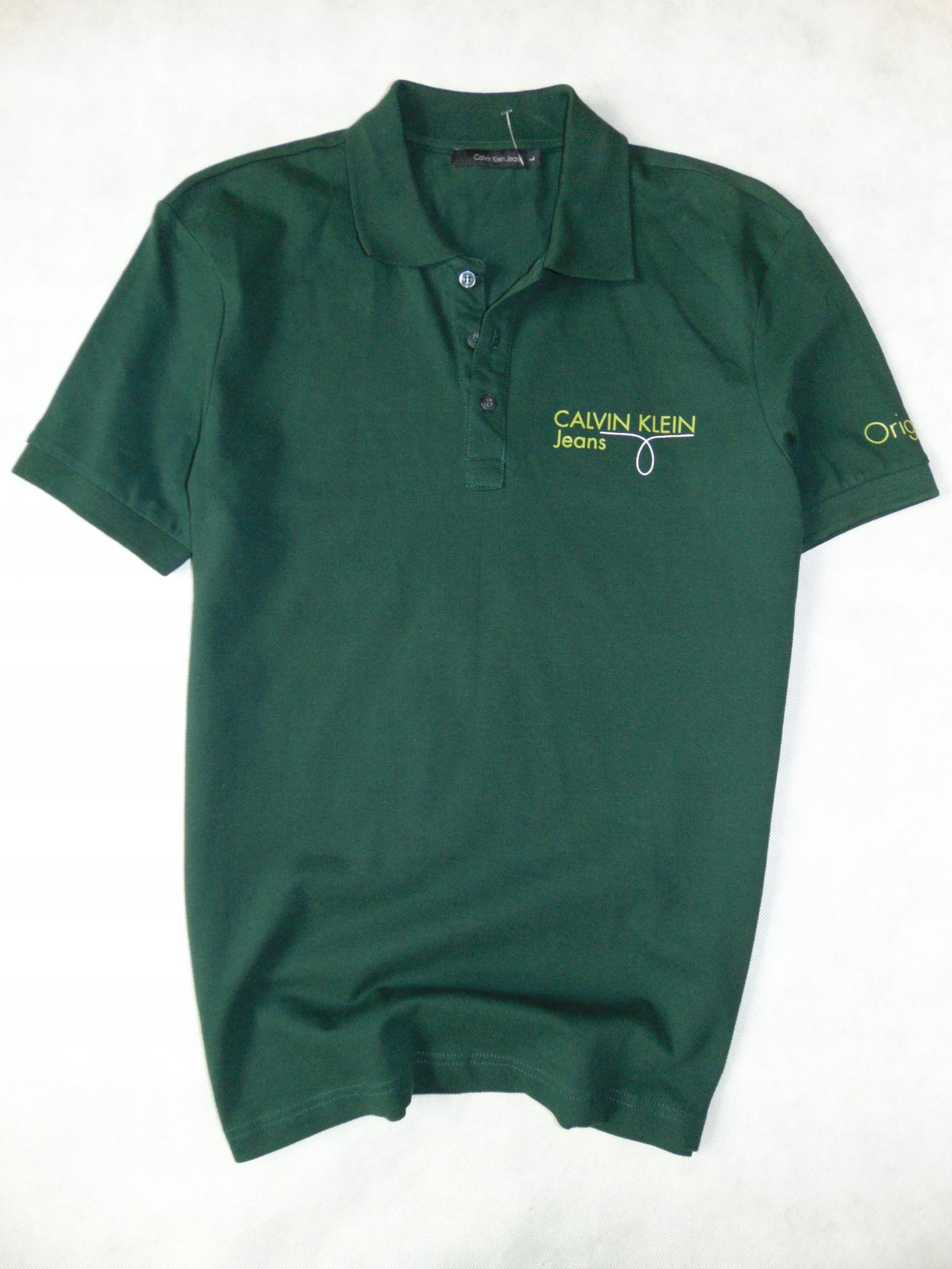 CALVIN KLEIN JEANS koszulka męska polo r L