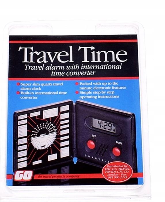 6053-24 ....TRAVEL TIME... ZEGAREK Z BUDZIKIEM