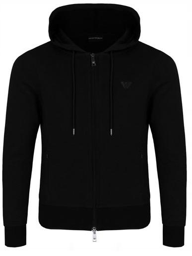 EMPORIO ARMANI czarna bluza męska EA8 r. XL