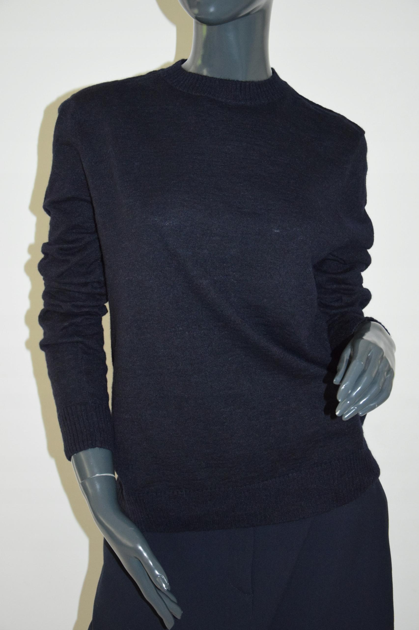 cos granatowy sweter alpaka r. M/38