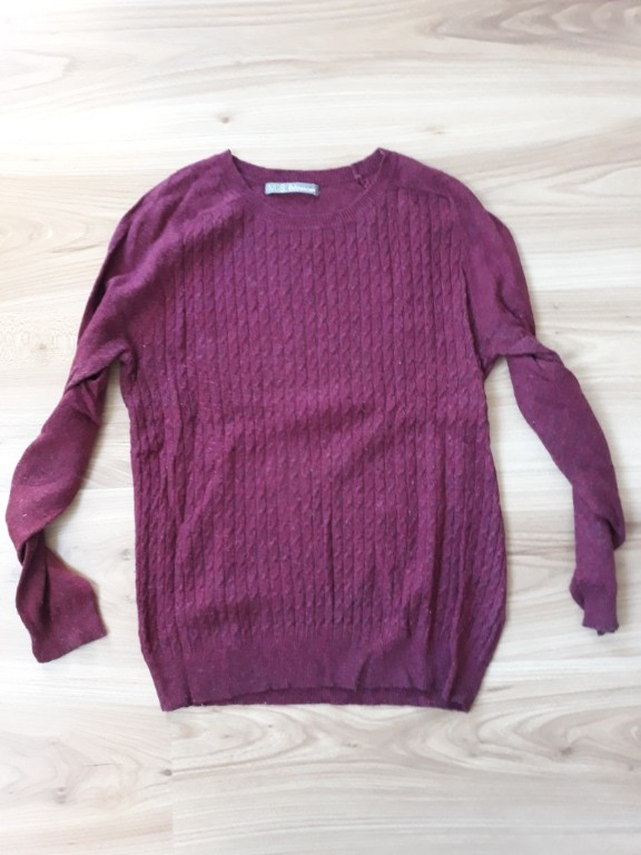 M&S 36 S sweter warkocze angora