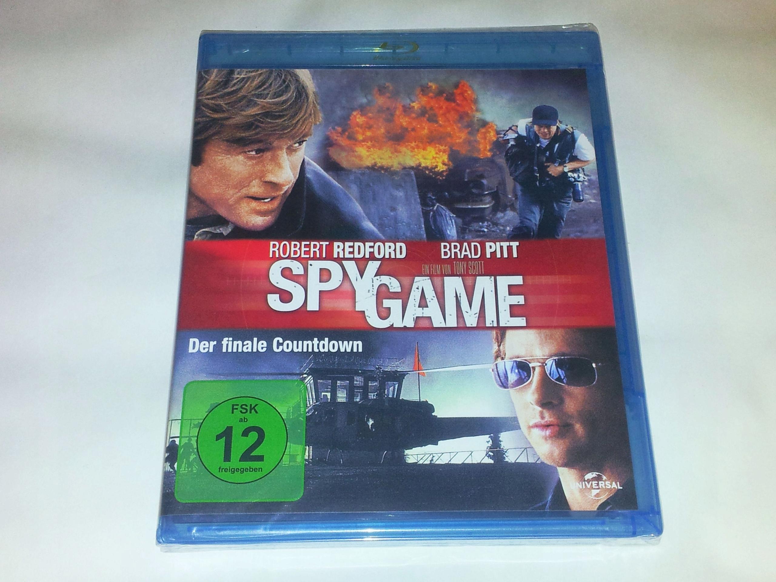 Zawód: Szpieg - Blu-ray - PL - Brad Pitt - Redford