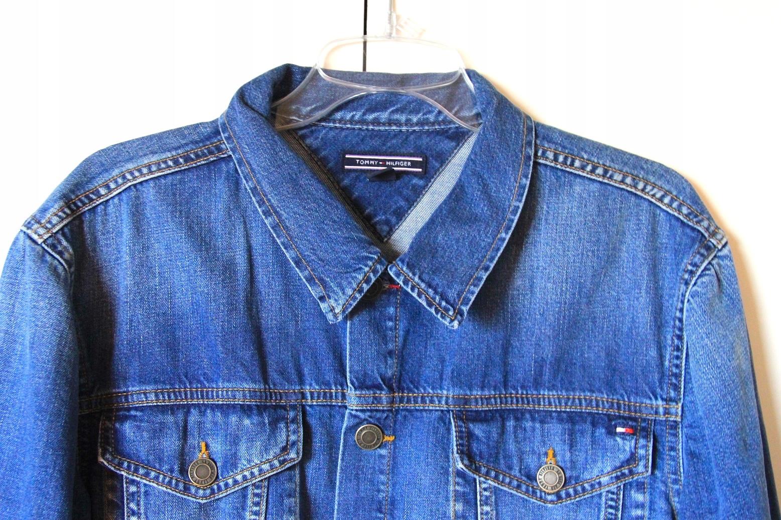 Tomy Hilfiger jeansowa kurtka koszula xl jeans 54
