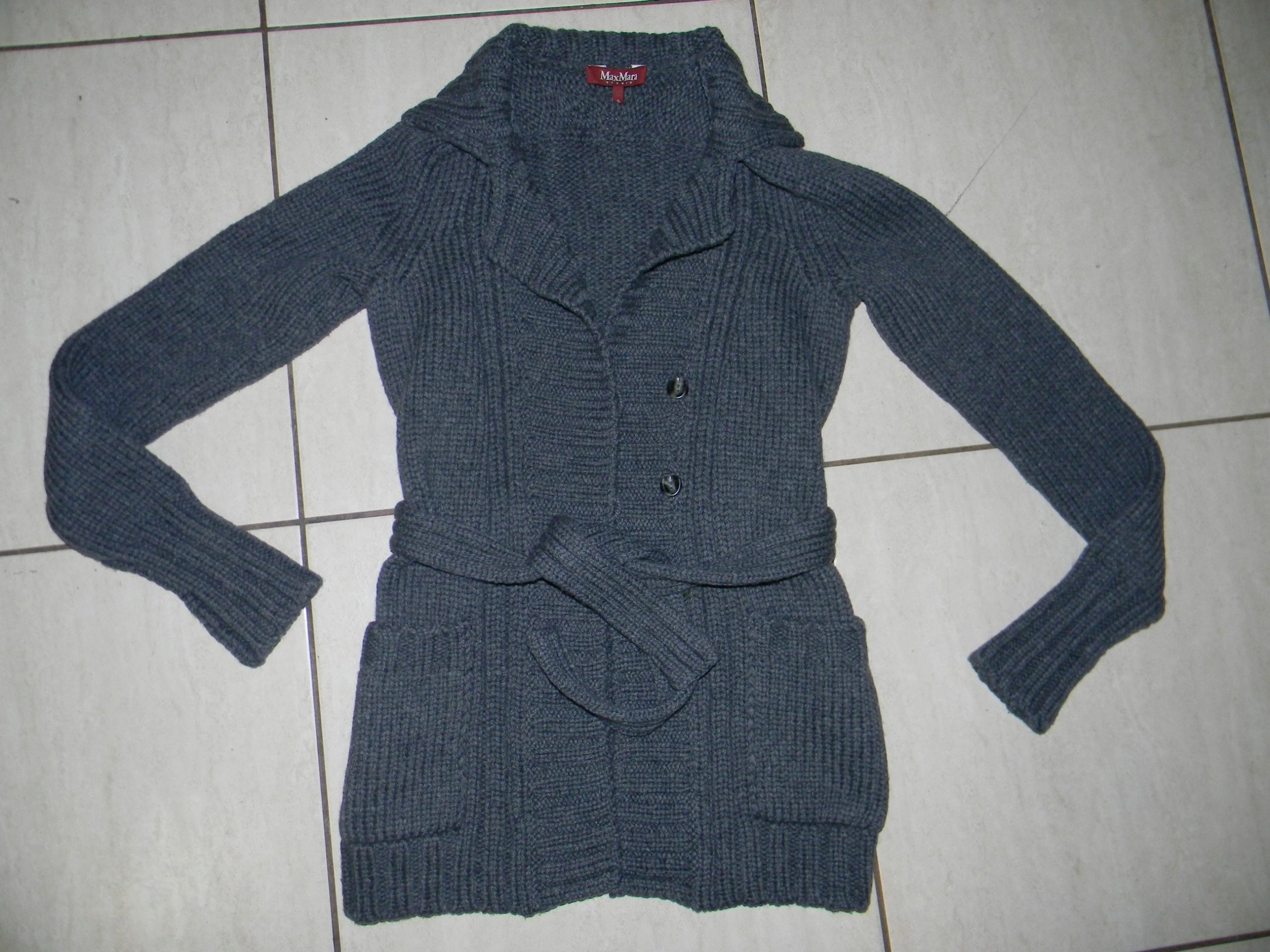MAXMARA lux cardigan 95% lana wool mieciutki