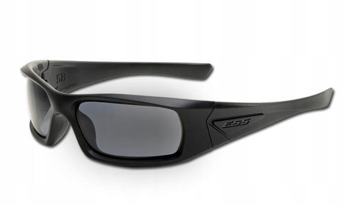 ESS - 5B - Black Frame Smoke Gray Lenses - EE9006-