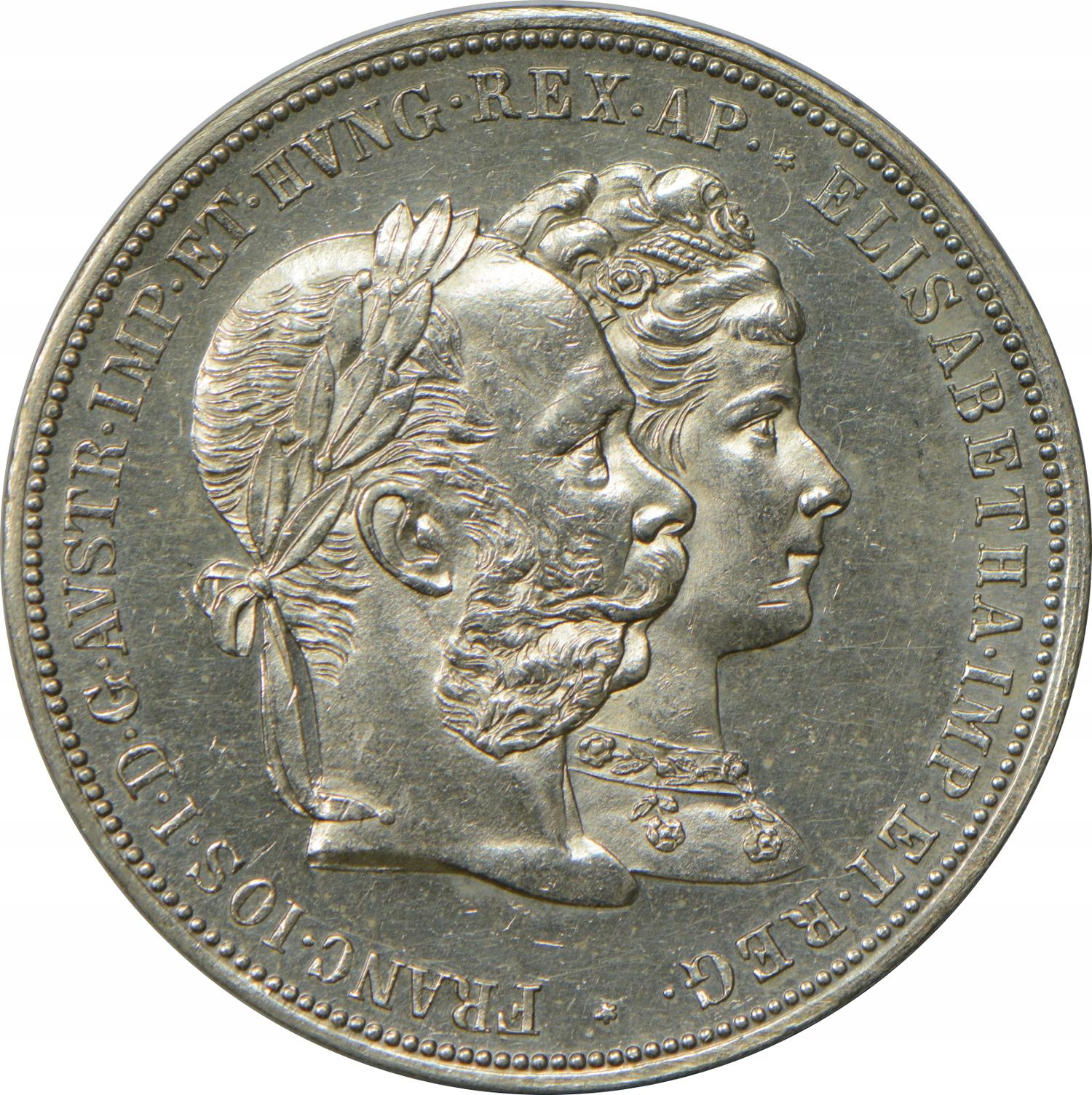 31GN.AUSTRIA 2 G 1879 SREBRO GCN 24.01