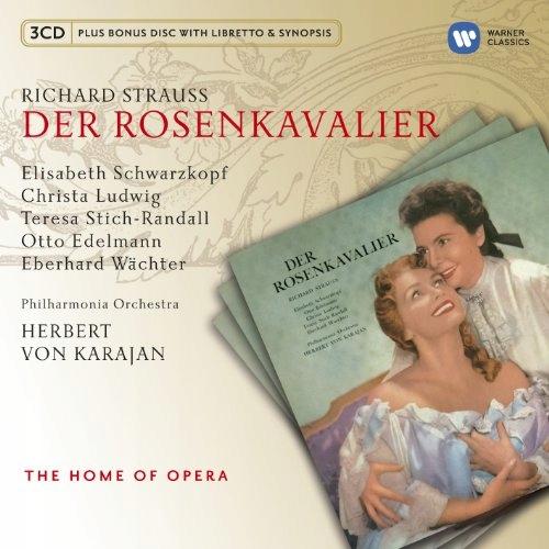 CD Strauss, R. - Der Rosenkavalier Philharmonia Or