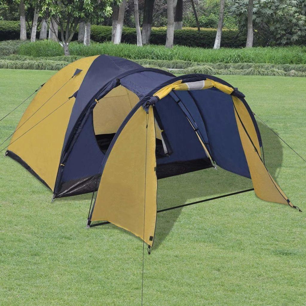 Namiot 4-osobowy, żółty GXP-679879