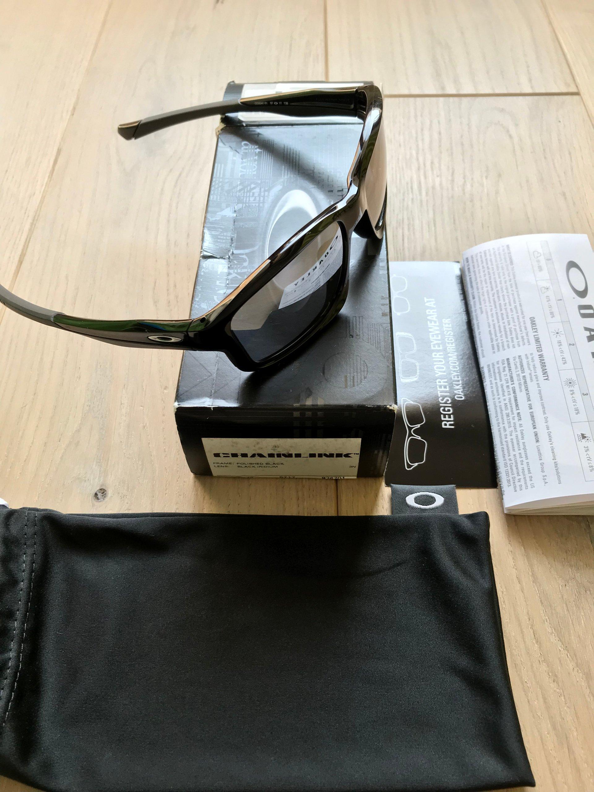 oakley chainlink OO9247-01 black iridium - 7277411475 - oficjalne archiwum  allegro 2db287f0b214