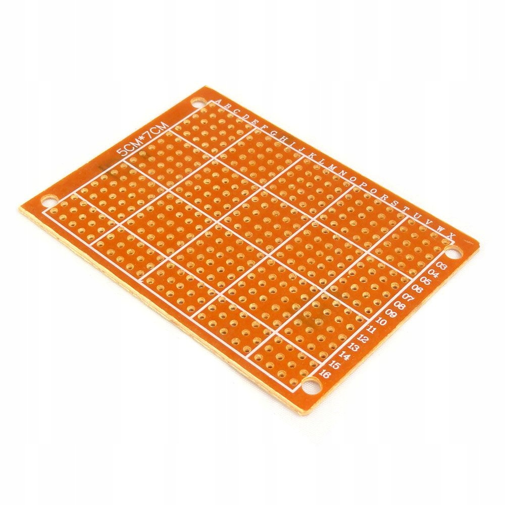 Płytka uniwersalna PCB 5x7 cm raster 2,54