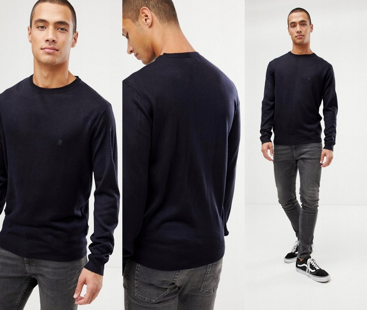 AE-2-9-4 FRENCH CONNECTION SWETER M