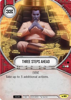 Star Wars Destiny - Three Steps Ahead