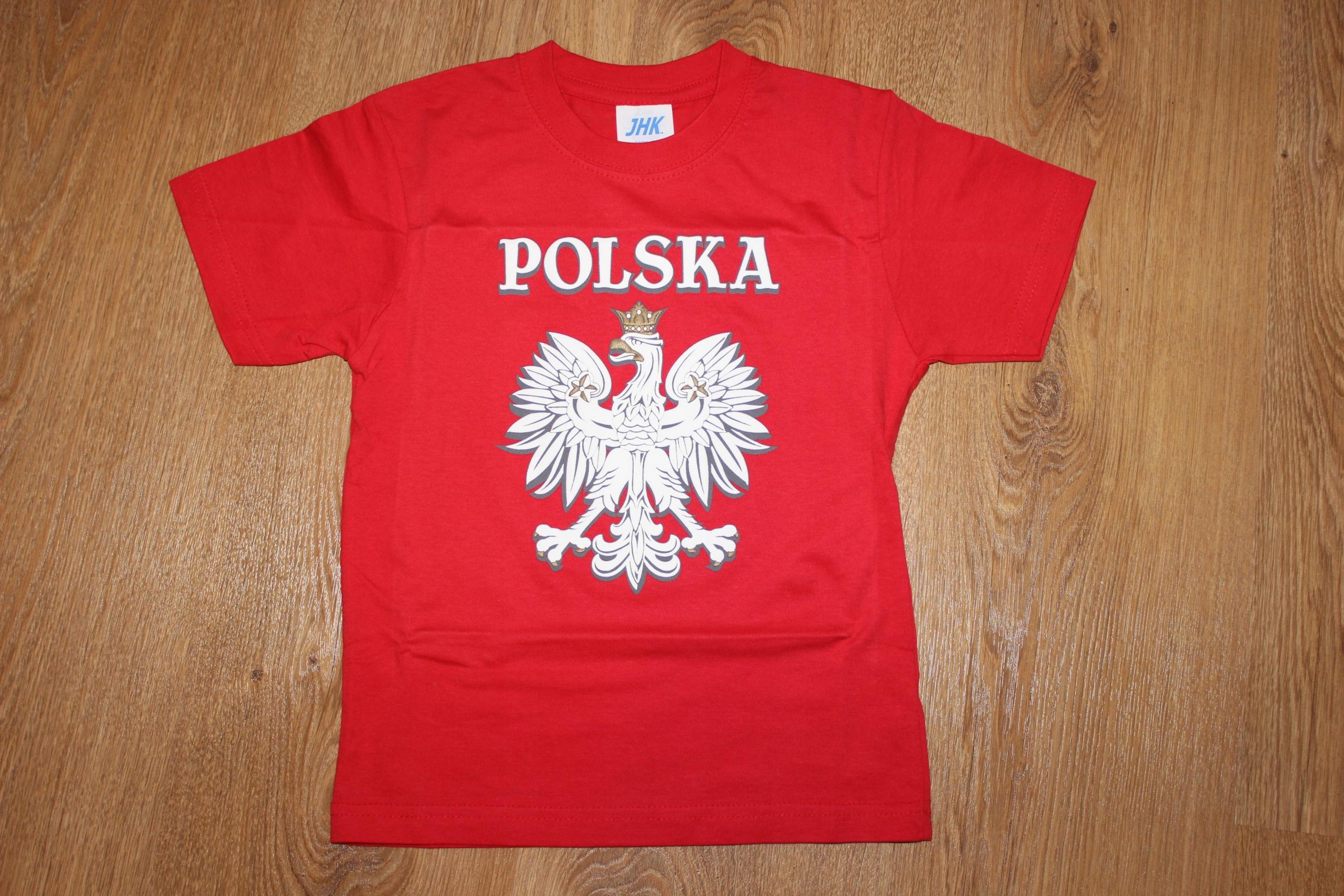 Bluzeczka dla KIBICA _ 104 cm _ POLSKA _ STADION