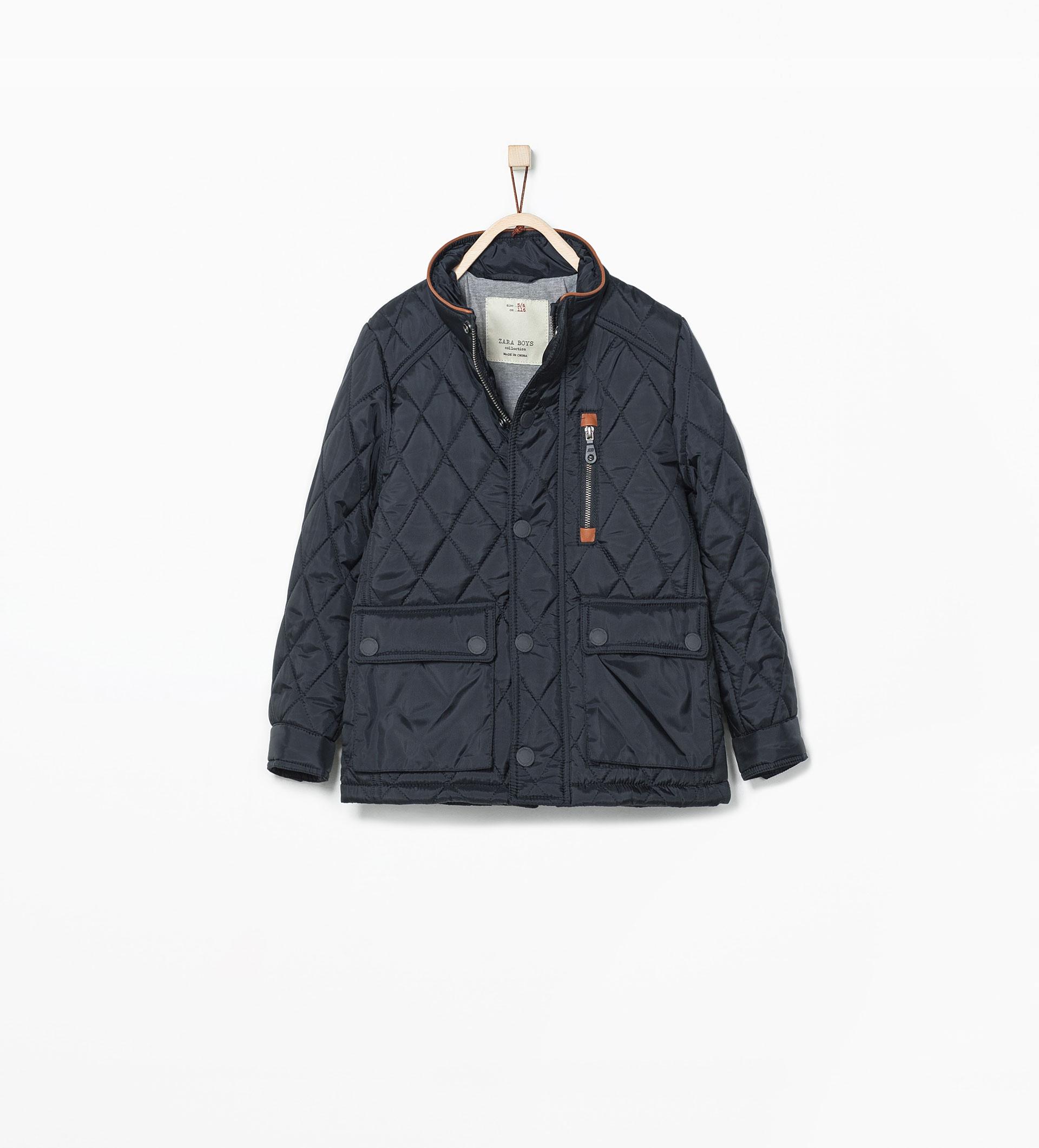 ZARA kurtka pikowana 140cm