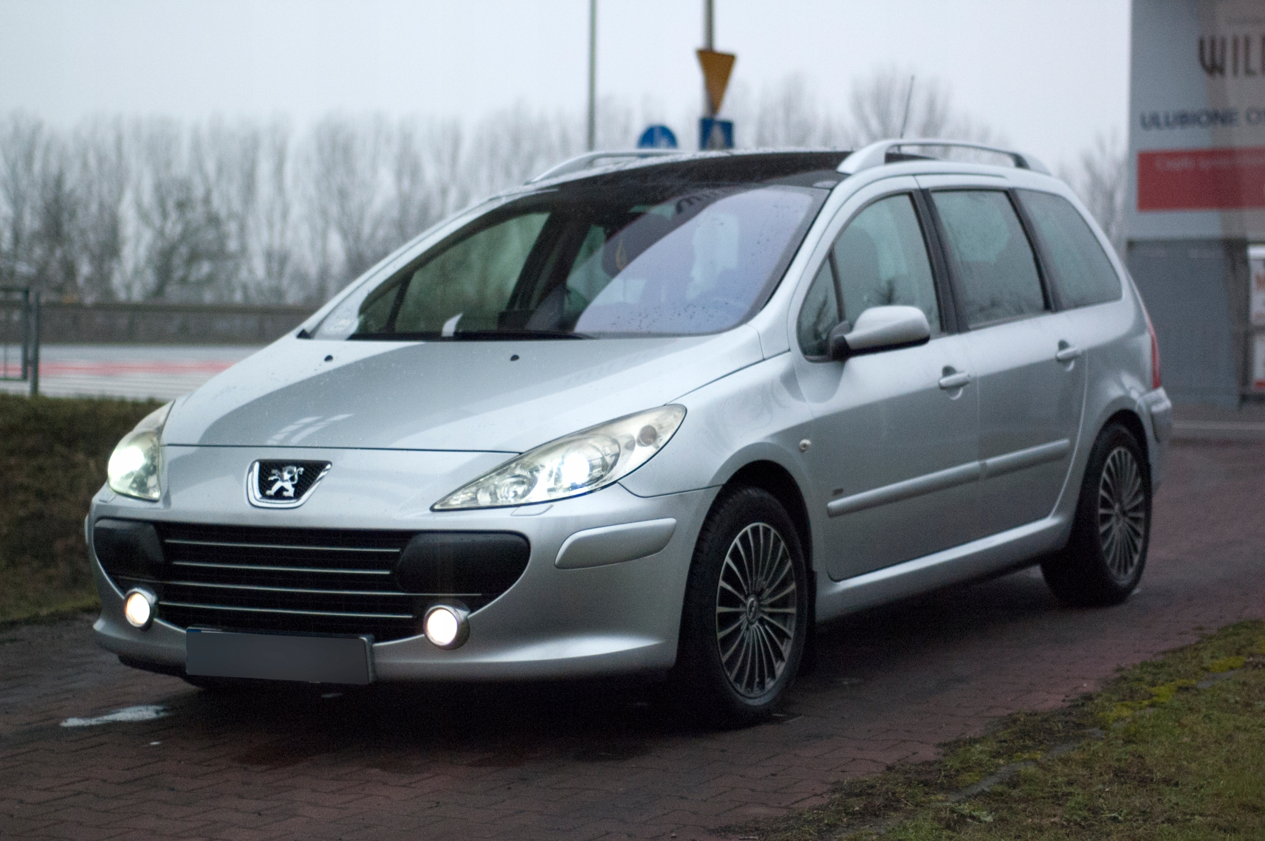 Peugeot 307SW, 2006r, 1,6HDI, exclusive, panorama