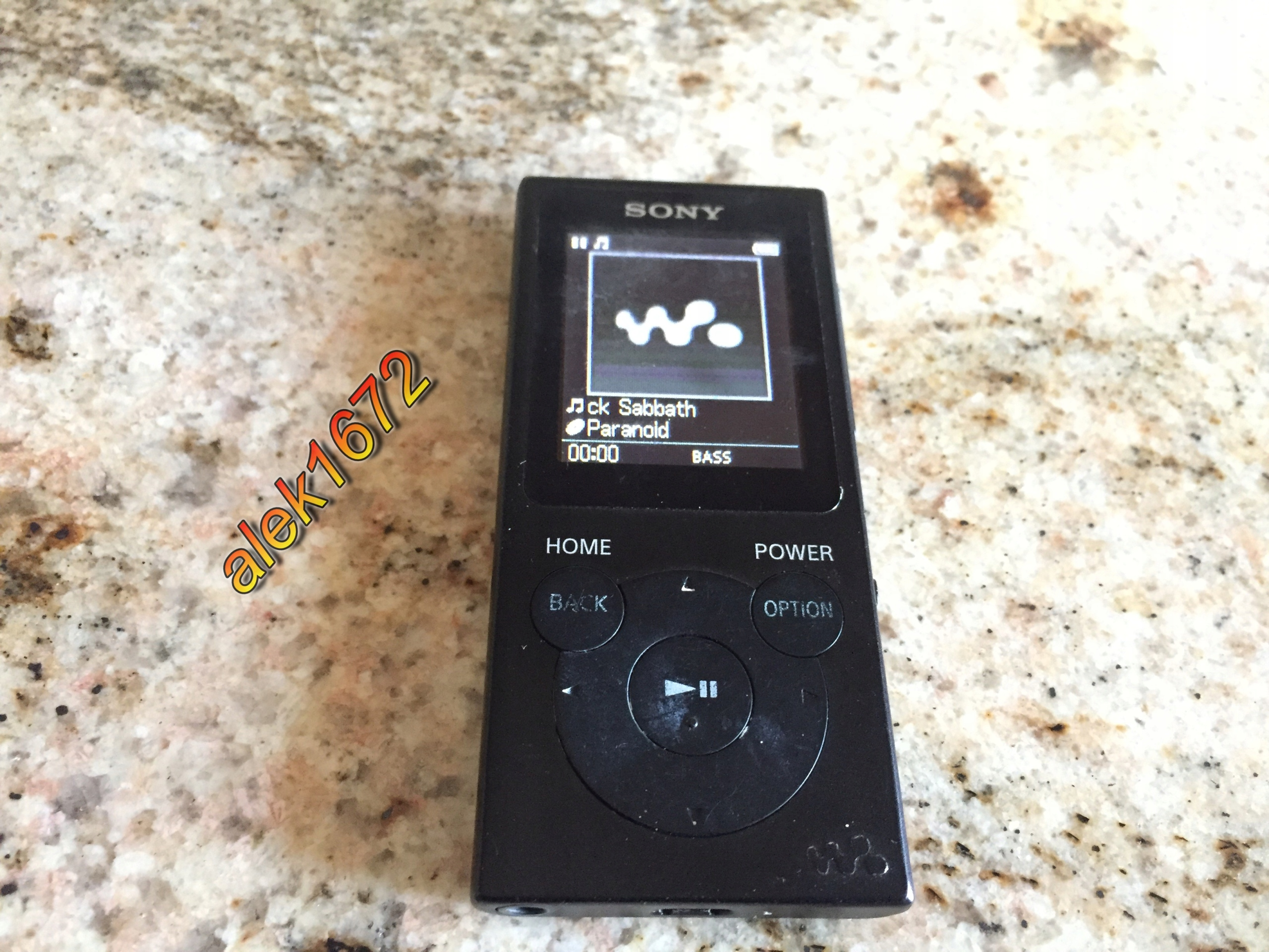 Sony WALKMAN NW-393, 4Gb