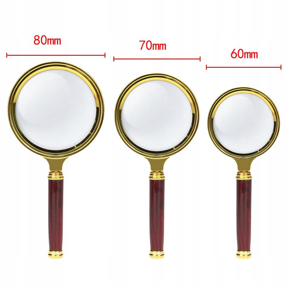 Lupa - powiększenie x10, 8 cm - ładny wygląd