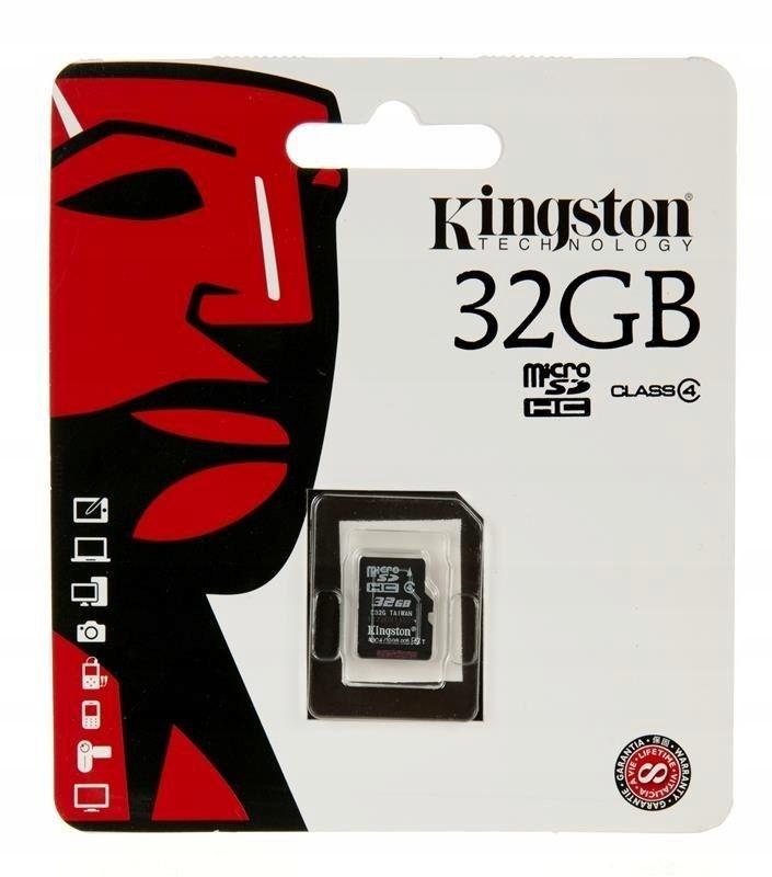Karta pamięci Kingston SDC4/32GBSP (32GB; Class 4)