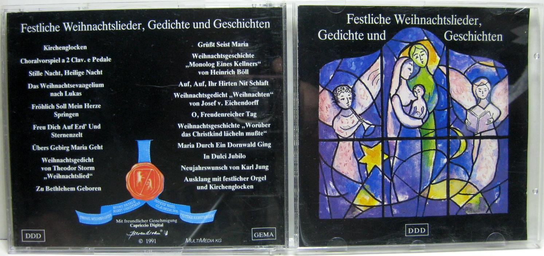 Weihnachtslieder Geschichte.Festliche Weihnachtslieder Gedichte Und Geschichte 7399444358