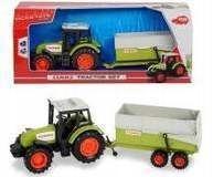 ,,Traktor z maszyną 16 cm.metalowy