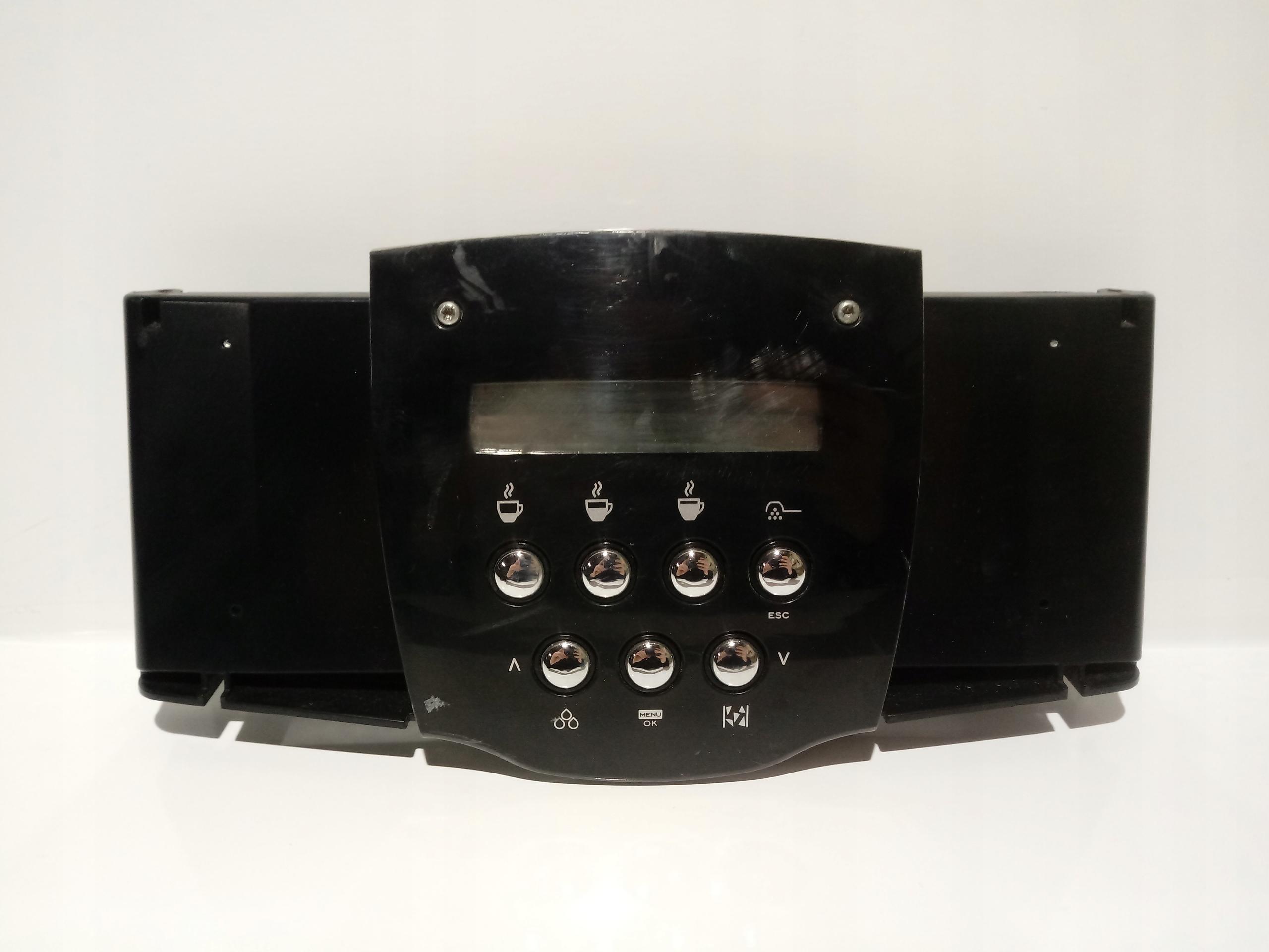 Saeco Incanto de luxe panel sterowania LCD