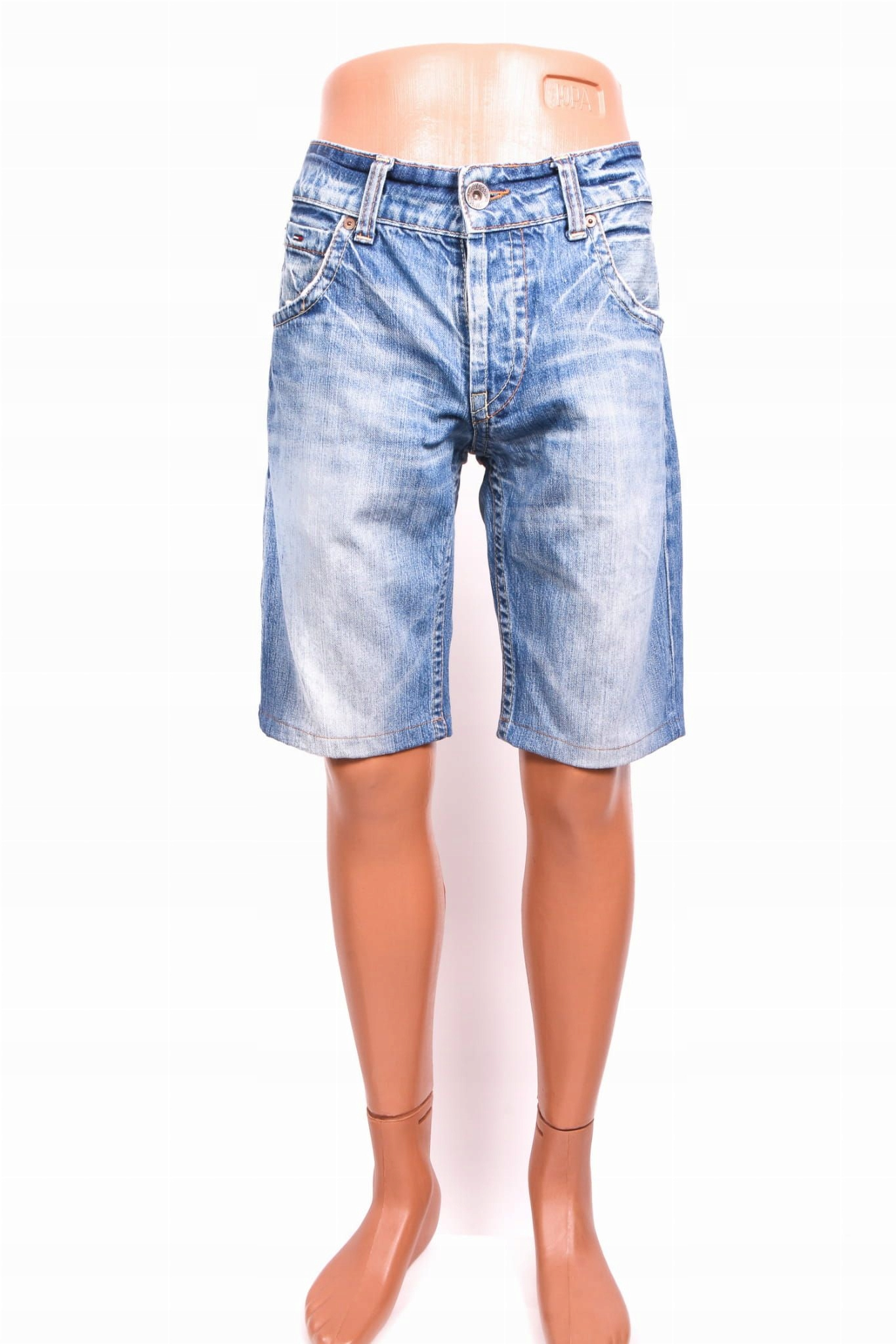 Tommy Hilfiger Spodenki Dżinsowe Męskie Jeans r L