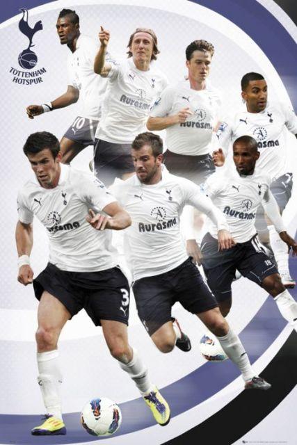 Tottenham Hotspurs Zawodnicy 11/12 - plakat
