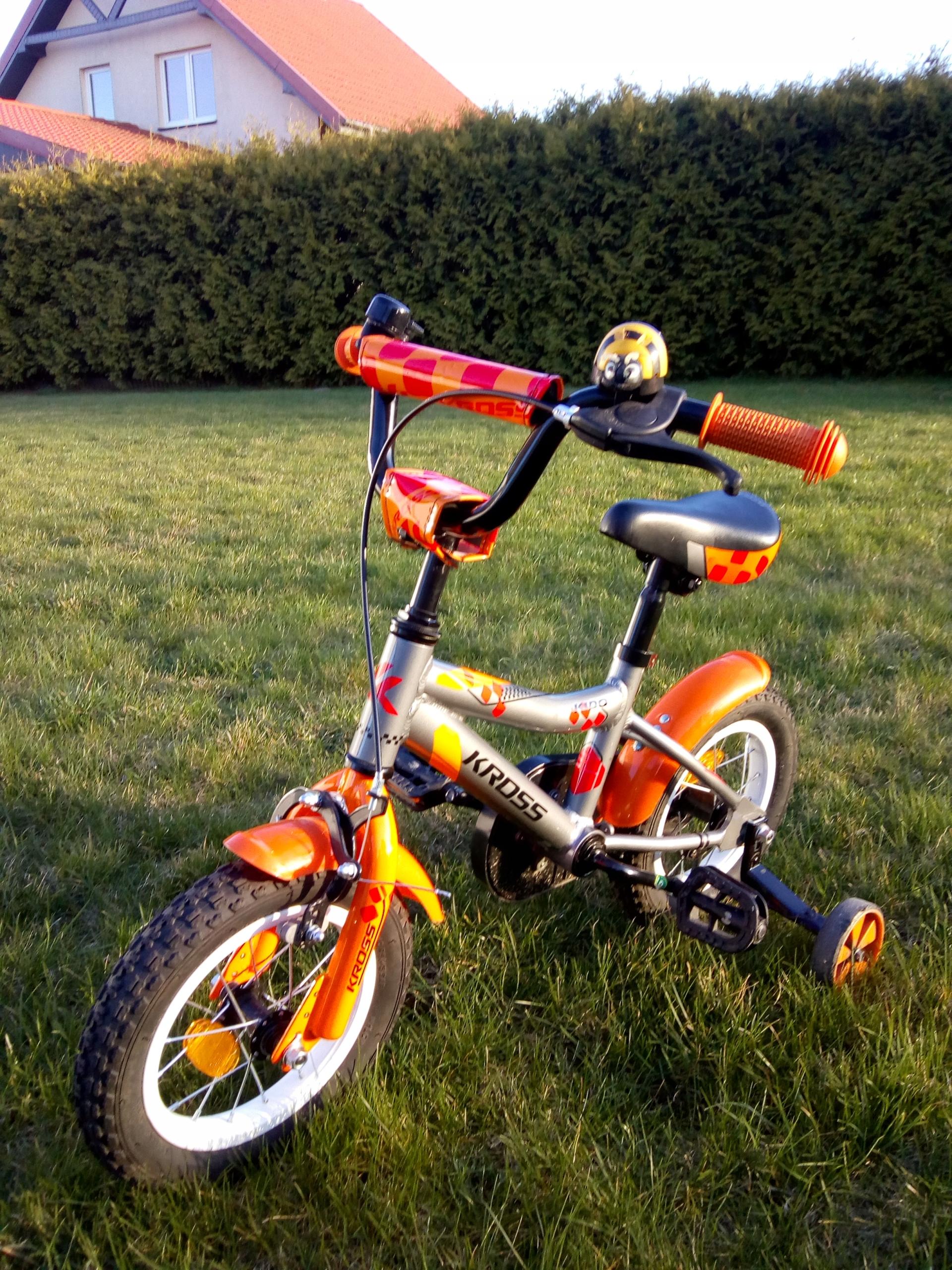 Spzedam rower dla dzieci 12' aluminium
