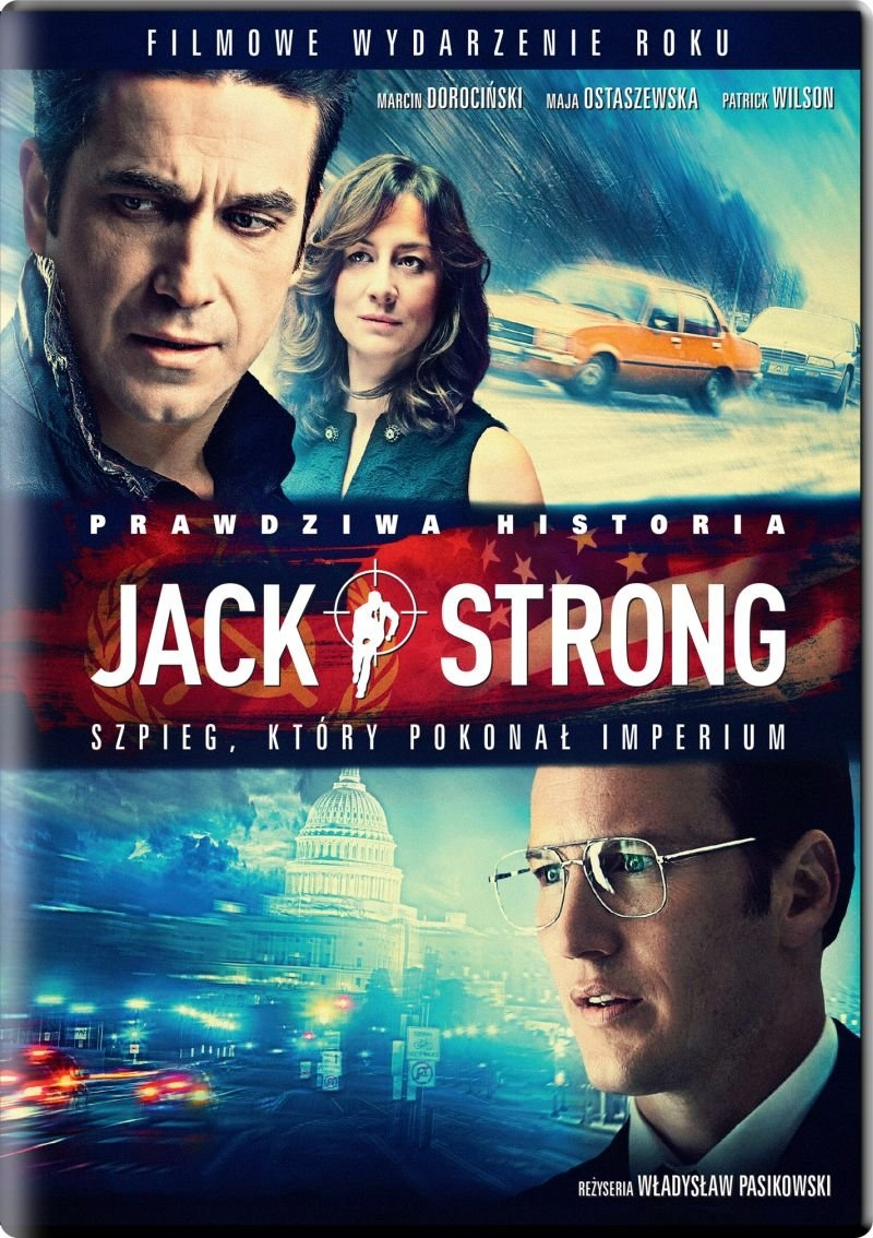 Film DVD Jack Strong nowy