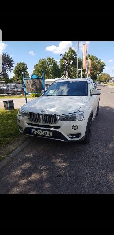 wynajem BMW X3 2.0 d 2016 na dni, wesela, longterm