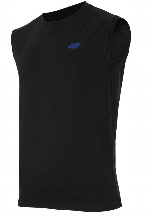 Koszulka męska bezrękawnik 4F TSM001 czarna XL