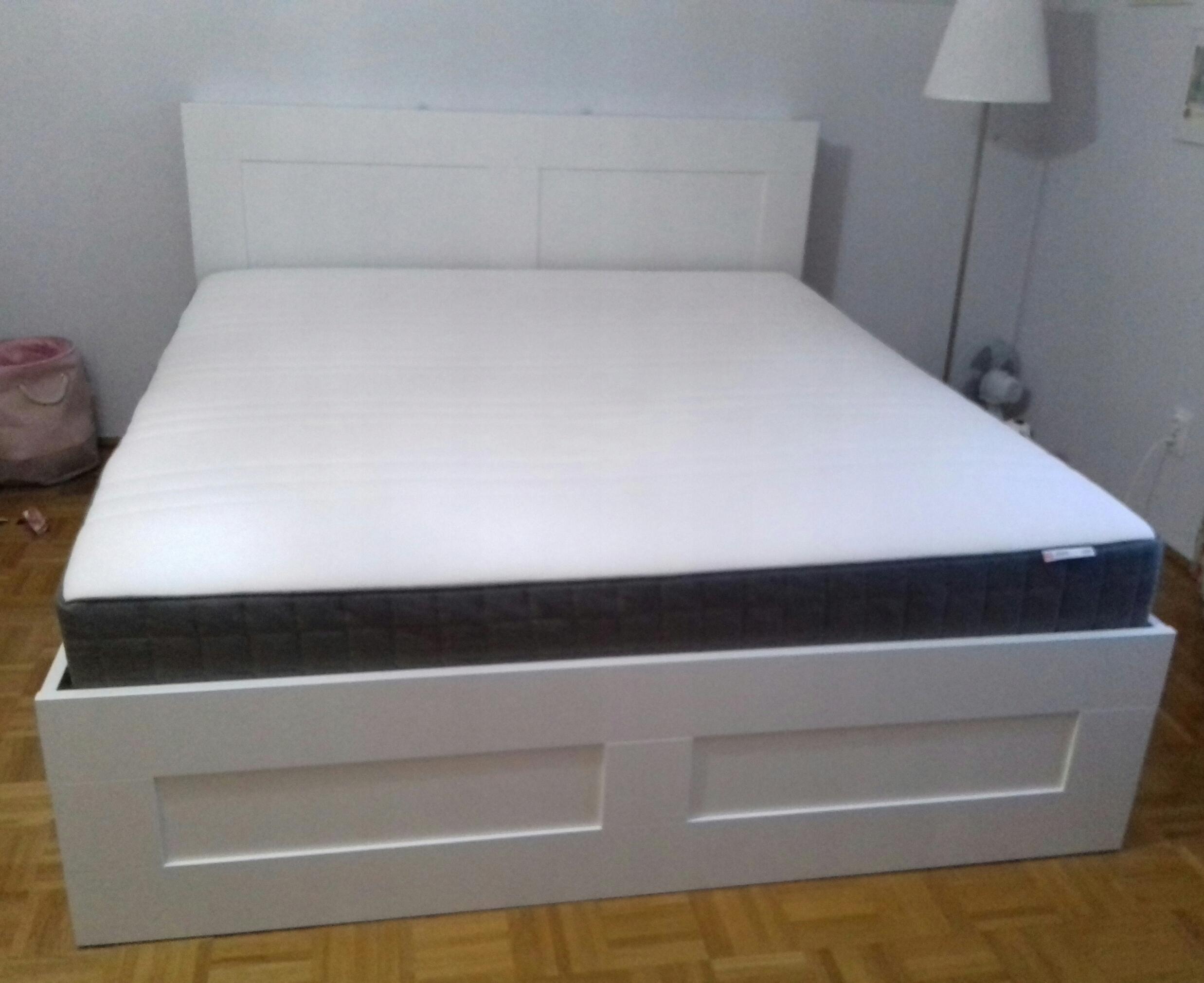 łóżko Ikea 180x200 7710380736 Oficjalne Archiwum Allegro